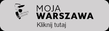 Przycisk z logo Moja Warszawa, link przenosi do strony e-usług