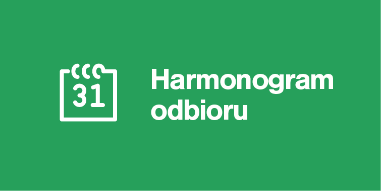 Czytaj więcej o: Harmonogramy odbioru odpadów